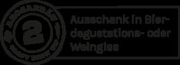 Arosabräu Craft Brew Tip 2 - Ausschank in Bierdegustations- oder Weinglas